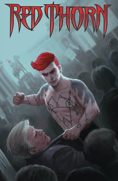 RED THORN #10 COVER A 1st PRINT