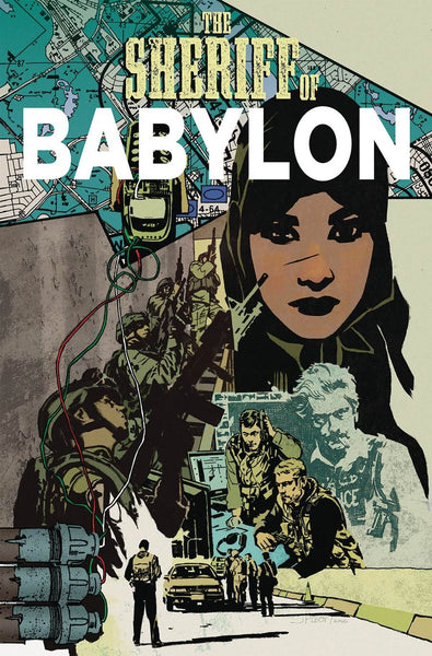 SHERIFF OF BABLYON #9 COVER A 1st PRINT
