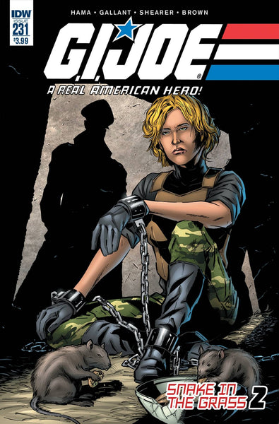 GI JOE A REAL AMERICAN HERO #231 1st PRINT