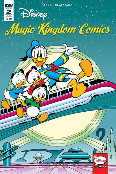 DISNEY MAGIC KINGDOM COMICS #2 1st PRINT
