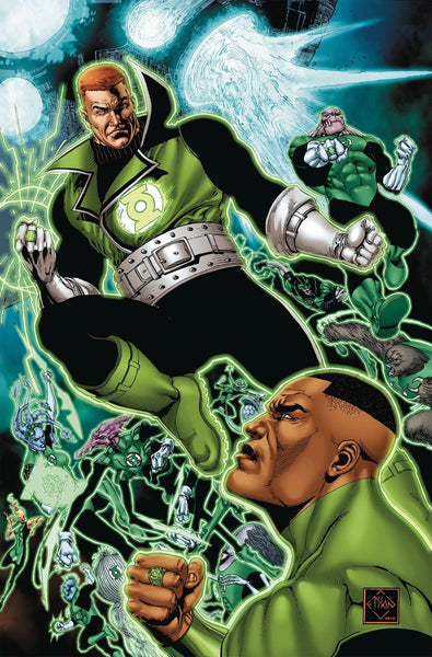 GREEN LANTERN CORPS EDGE OF OBLIVION #5 1st PRINT COVER