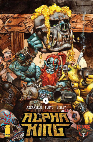 3 FLOYDS ALPHA KING #4 OF 5 1st PRINT COVER