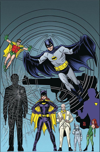 BATMAN 66 MEETS MAN FROM U.N.C.L.E. #6 1st PRINT COVER