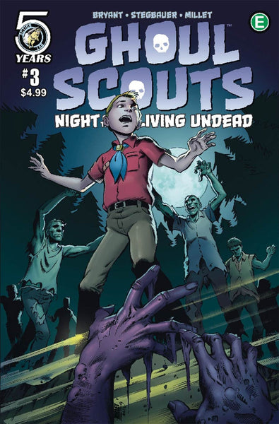 GHOUL SCOUTS NIGHT OF THE UNLIVING UNDEAD #3 C VARIANT MILLET