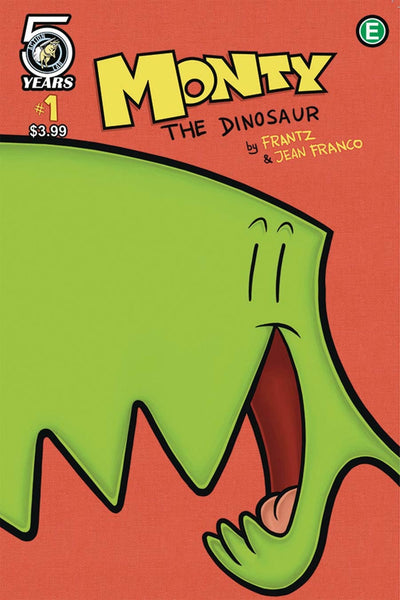 MONTY THE DINOSAUR #1 COVER B VARIANT FRANCO