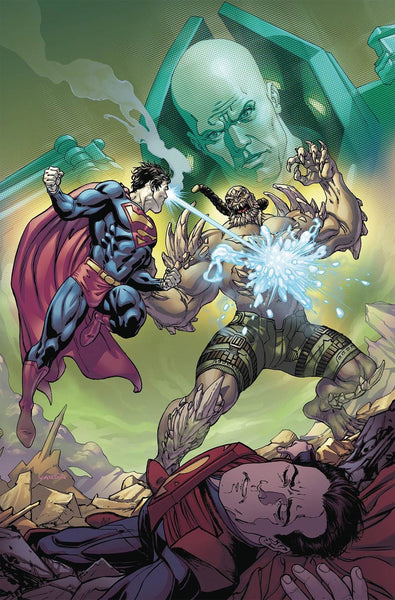 INJUSTICE GODS AMONG US YEAR FIVE #10 1st PRINT COVER