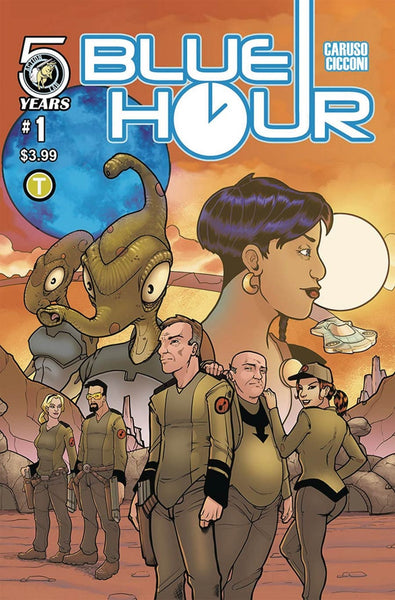 BLUE HOUR #1 COVER A 1st PRINT