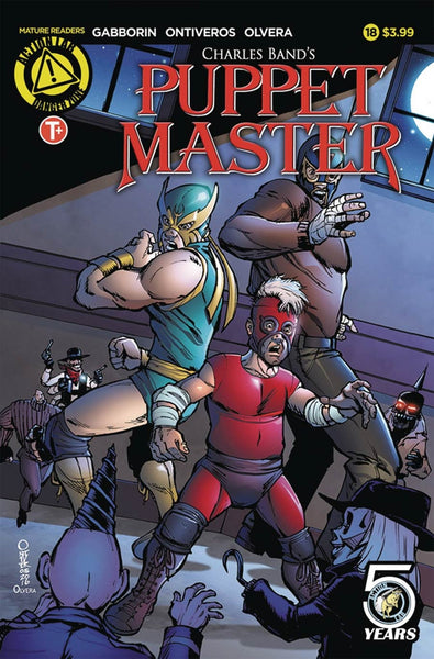 PUPPET MASTER #18 COVER A ONTIVEROS 1st PRINT