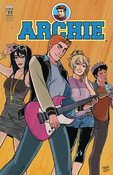 ARCHIE #11 COVER VARIANT B ANWAR