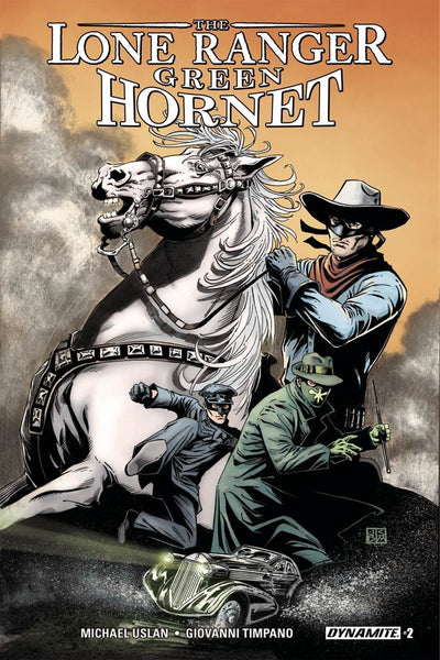 LONE RANGER GREEN HORNET #2 COVER A MAIN CASSADAY