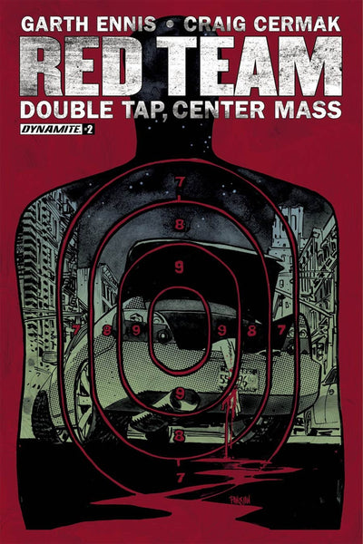 GARTH ENNIS RED TEAM DOUBLE TAP CENTER MASS #2