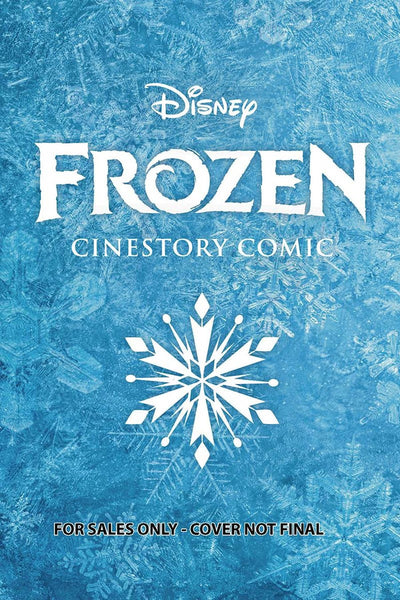 DISNEYS FROZEN CINESTORY COLLECTORS EDITION HC