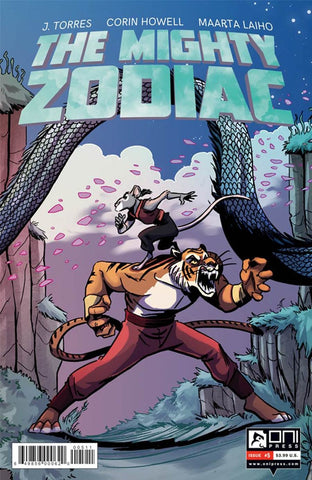 MIGHTY ZODIAC #5 COVER A 1st PRINT