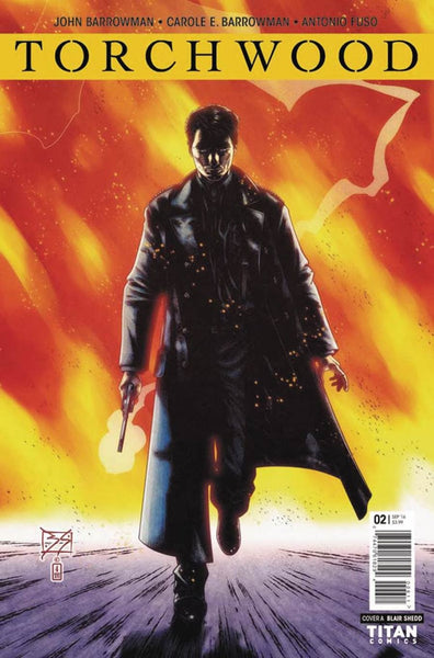 TORCHWOOD #2 COVER A SHEDD 1st PRINT