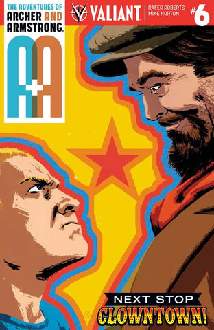 A&A #6 ADVENTURES OF ARCHER & ARMSTRONG CVR B KANO VARIANT