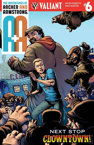 A&A #6 ADVENTURES OF ARCHER & ARMSTRONG CVR C ROBERTSON VARIANT