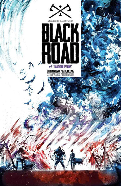 BLACK ROAD #2 1st PRINT COVER