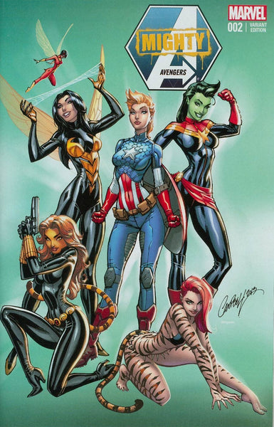 MIGHTY AVENGERS VOL 2 #2 J SCOTT CAMPBELL NYCC CON VARIANT