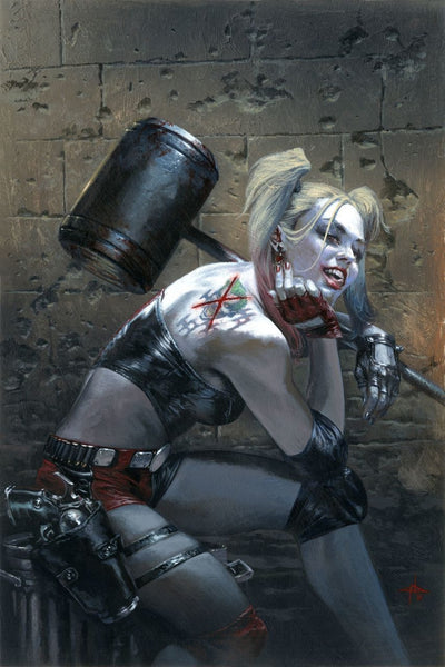 HARLEY QUINN VOL 3 #1 BULLETPROOF DELL OTTO COLOR VARIANT