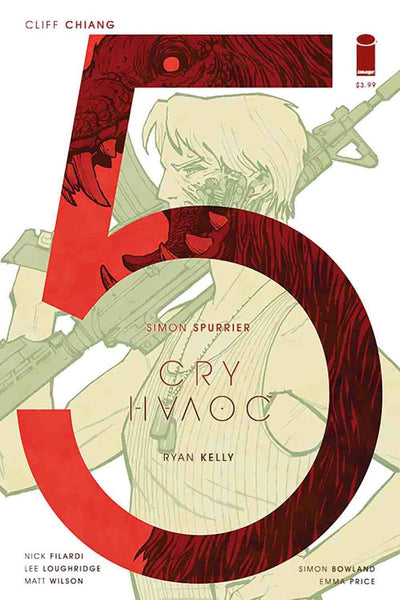 CRY HAVOC #5 COVER B CHIANG VARIANT