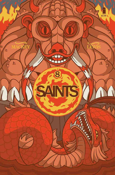 SAINTS #8 (OF 10) 1st PRINT COVER