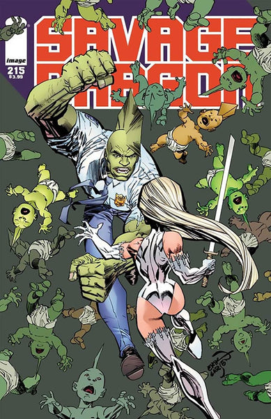 SAVAGE DRAGON #215 1st PRINT COVER