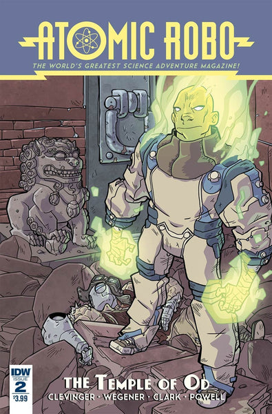 ATOMIC ROBO & THE TEMPLE OF OD #2 OF 5 1st PRINT