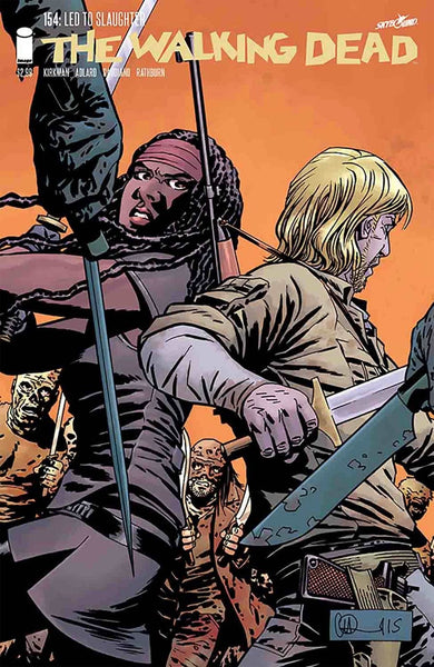 WALKING DEAD #154 1st PRINT COVER