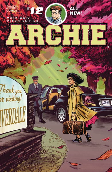 ARCHIE #12 COVER A 1ST PRINT VERONICA FISH