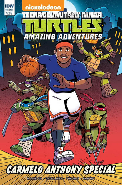 TMNT AMAZING ADVENTURES CARMELO ANTHONY SPECIAL 1st PRINT