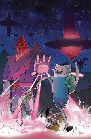 ADVENTURE TIME #56 COVER B SUB VARIANT