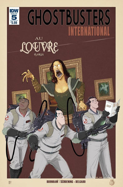 GHOSTBUSTERS INTERNATIONAL #5 1st PRINT
