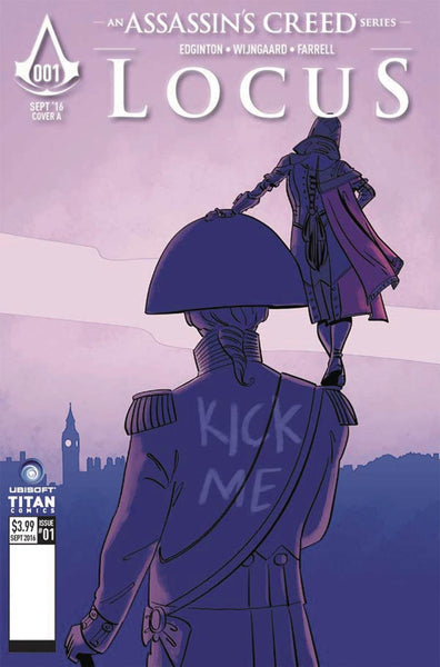 ASSASSINS CREED LOCUS #1 (OF 4) COVER C CULBARD VARIANT