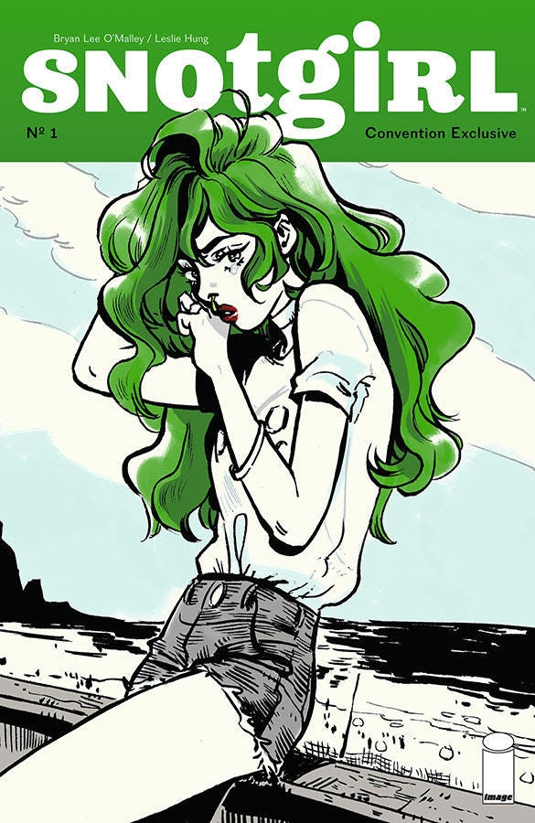 Snotgirl 1 Sdcc Bryan Lee Omalley Leslie Hung Variant Comicxposure