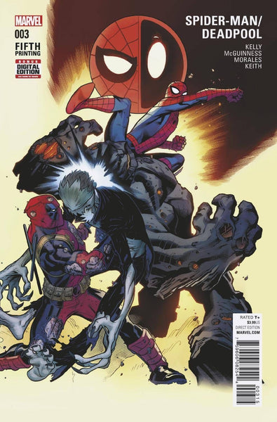 SPIDERMAN DEADPOOL #3 5th PRINT VARIANT