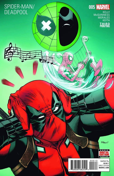 SPIDERMAN DEADPOOL #5 3rd PRINT VARIANT