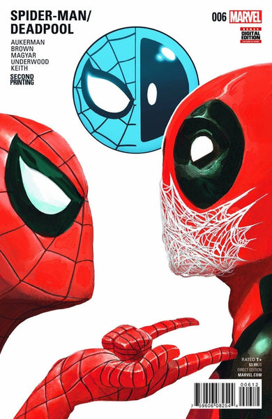 SPIDERMAN DEADPOOL #6 2nd PRINT VARIANT