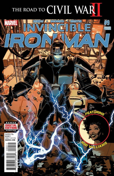 INVINCIBLE IRON MAN #9 2nd PRINT VARIANT