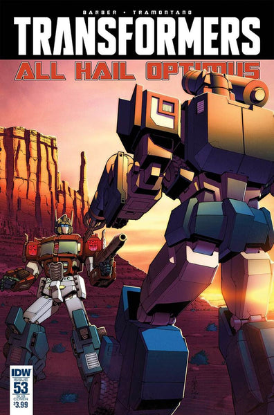 TRANSFORMERS #53 SUBSCRIPTION VARIANT