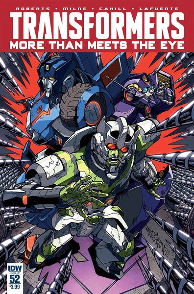 TRANSFORMERS MORE THAN MEETS THE EYE #53 1st PRINT