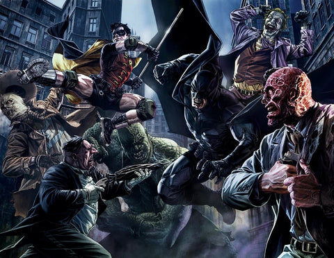 ALL STAR BATMAN #1 4th WORLD LEE BERMEJO COLOR VARIANT