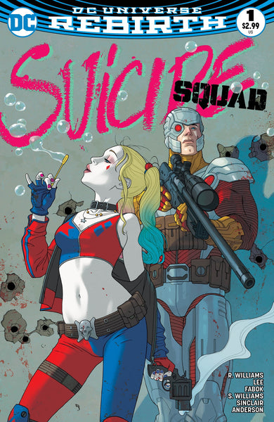 SUICIDE SQUAD VOL 4 #1 LIMITED EDITION MIDDLETON VARIANT