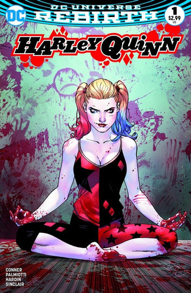HARLEY QUINN VOL 3 #1 YESTERYEAR TONY DANIEL COLOR VARIANT