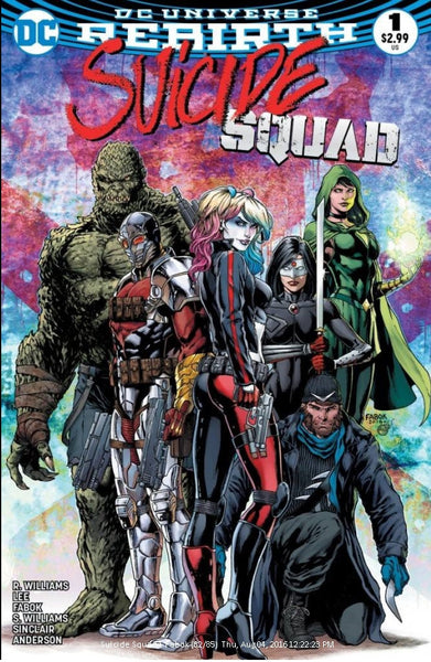 SUICIDE SQUAD VOL 4 #1 CINCINNATI COMIC EXPO FABOK COLOR VARIANT