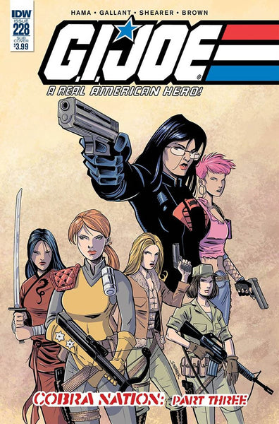 GI JOE A REAL AMERICAN HERO #228 SUBSCRIPTION VARIANT