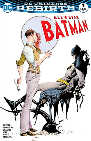 ALL STAR BATMAN #1 DYNAMIC FORCES DF JAE LEE COLOR VARIANT