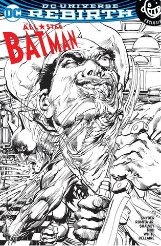 ALL STAR BATMAN #1 NEWBURY NEAL ADAMS B&W SKETCH VARIANT