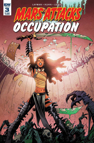 MARS ATTACKS OCCUPATION #3 (of 5) 1st PRINT