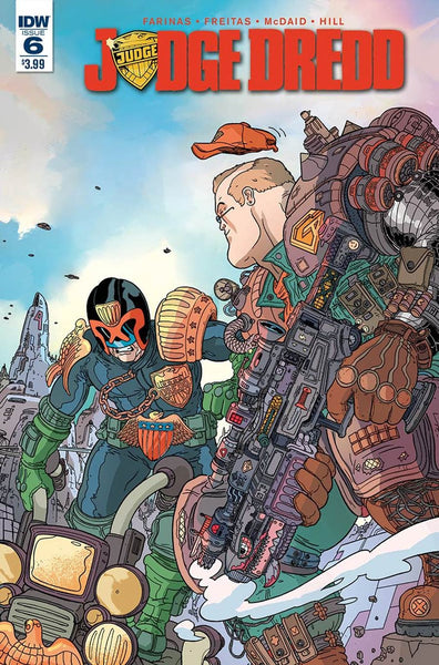 JUDGE DREDD #6 ONGOING 1st PRINT