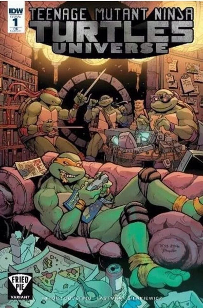 TMNT UNIVERSE #1 FRIED PIE VARIANT TEENAGE MUTANT NINJA TURTLES